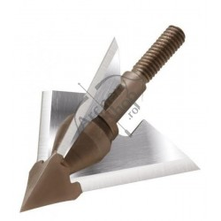 QAD DEEP SIX EXODUS FULL BLADE 3 LAME BROADHEAD SET  3BUC
