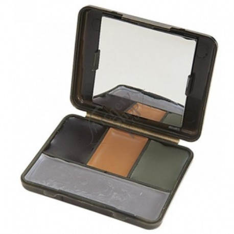 ALLEN 4 COLOR CAMO FACE PAINT COMPACT