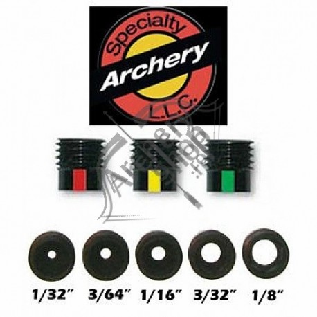 SPECIALTY ARCHERY 3 CLARIFIER (APERTURE + LENS) RED