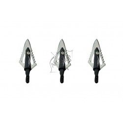 MAXIMAL BROADHEADS 4 LAME CROSS CUT SET 3 BUC