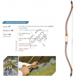 NOMAD KOREAN TRADITIONAL BOW KTB ARC HORSEBOW