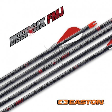 EASTON SHAFT DEEP SIX FULL METAL JACKET INJEXION 4 mm .002