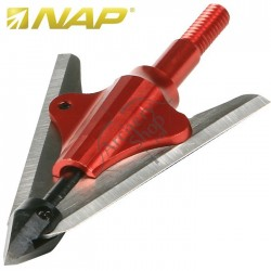 NAP DEEP SIX BLOODRUNNER II BROADHEAD SET 3 BUC