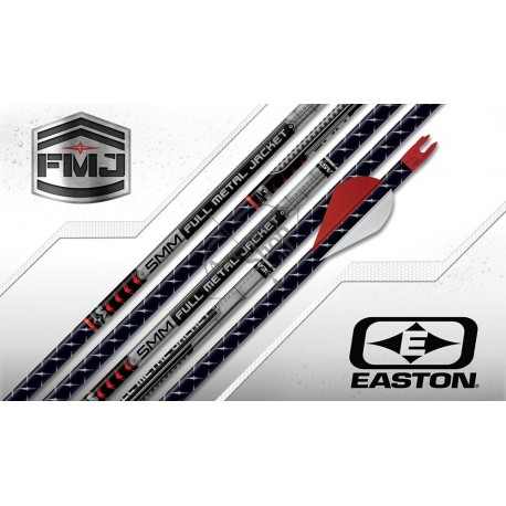 EASTON FULL METAL JACKET 5MM SHAFT .002 SET 12 BUC