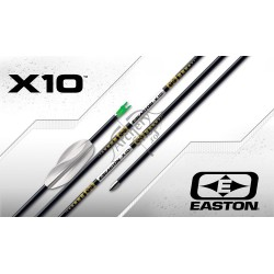 EASTON SHAFTS X10 ALU CARBON SET 12 BUC