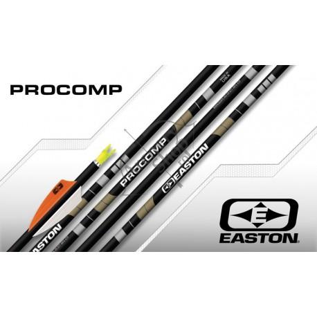 EASTON PROCOMP ALU-CARBON SHAFTS SET 12 BUC