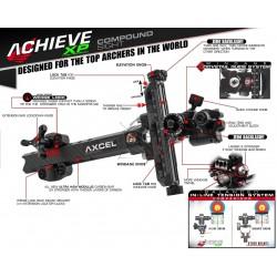 AXCEL SIGHT ACHIEVE XP CARBON BAR COMPOUND