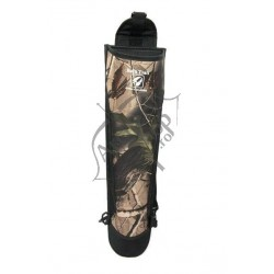 QUIVERS FOR TRADITIONAL BACK ADVENTURE NYLON AMBIDEXTROUS 56cm  BLACK/CAMO