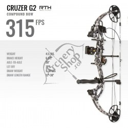 BEAR ARCHERY BOW CRUZER G-2 ARC COMPOUND  READY TO SHOOT KIT