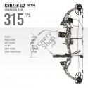 BEAR ARCHERY BOW CRUZER G-2 ARC COMPOUND READY TO SHOOT KIT