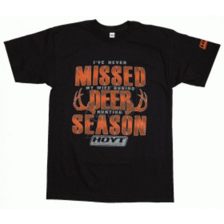HOYT TRICOU NEVER MISSED DEER SEASON MARIME M
