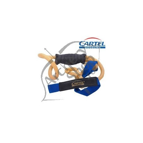 CARTEL BANDA ANTRENAMENT PENTRU ARCASI CU GRIP POWER BELT
