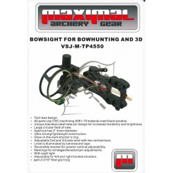 MAXIMAL APARAT DE OCHIRE 3D DAWN TOOLLESS HUNTING 5 PINI SIGHT