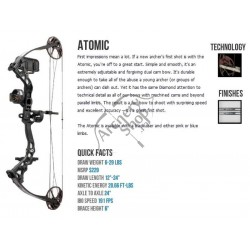 DIAMOND ARC COMPOUND BOWTECH BOW ATOMIC PACKAGE