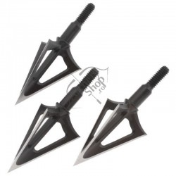 G5 BROADHEAD MONTEC CARBON STEEL 3 BLADES - SET 3 BUC
