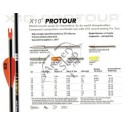 EASTON X10 PROTOUR CU EASTON VANES CUSTOM SAGETI ALU-CARBON SET 12 BUC