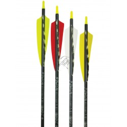 "EASTON GAMEGETTER CU PENE NATURALE 4"" CUSTOM  SAGEATA ALUMINIU"