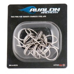 AVALON FACE PIN TARGET PIN FIXARE SET 6