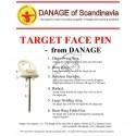 DANAGE SET METAL PINS 60MM- CUIE FIXARE TINTA SET 8 BUC