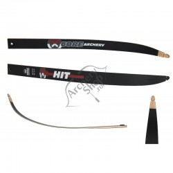 CORE  HIT BLACK FIBER WOOD LAME ARC RECURVE