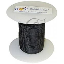 BCY D-LOOP MATERIAL 0.080 NEGRU 100 FT (33 METRI)