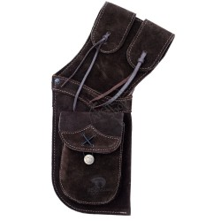 BEARPAW HIP QUIVER DARK BROWN- TOLBA PIELE