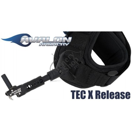 AVALON TEC X INDEX RELEASE VELCRO STRAP BLACK