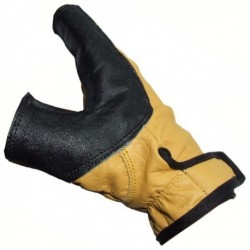 WHITE FEATHER FIRE MANUSA PENTRU MANA DE ARC BOWHAND Y GLOVE