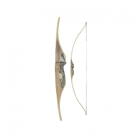 """WHITE FEATHER LONGBOW PETREL 54"""" CLEAR"""