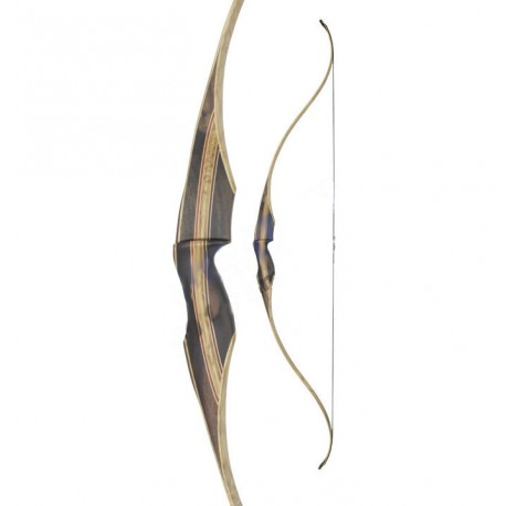 """WHITE FEATHER FIELDBOW ONE PIECE CARDINAL 60"""" CLEAR"""