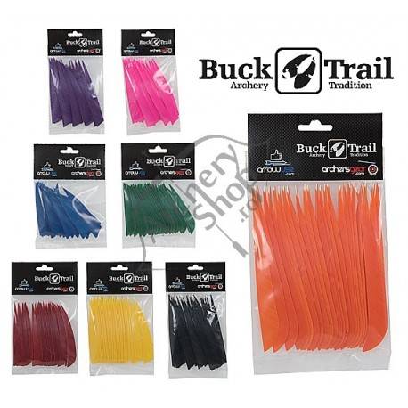 """BUCK TRAIL NATURAL FEATHERS PENE NATURALE 3"""""""