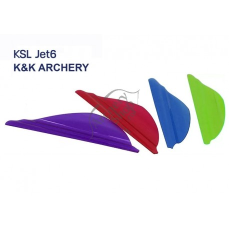 "K & K ARCHERY VANES KSL JET6 1 3/4"""